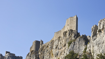 Cathar castle landmark