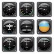 Aircraft gauges set - 71066172
