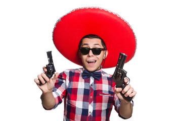 Man with sombrero