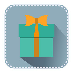 Flat with gift box