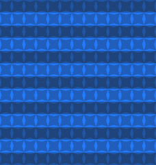 pattern geometric blue color