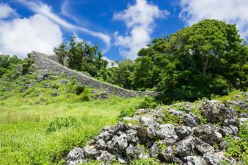 沖縄の風景・糸数城跡