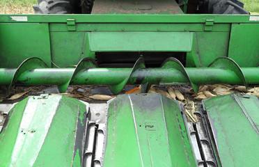 Metal screw conveyor helix