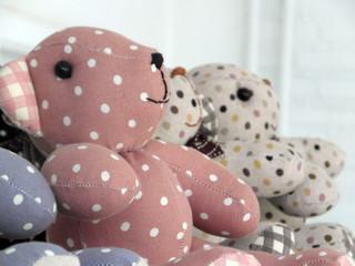 Assorted Handmade Teddy Bears