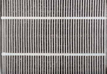dirty car aircondition filter