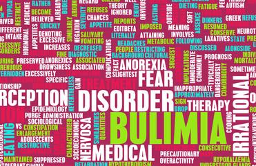 Bulimia Concept