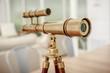 vintage brass telescope - 71073707