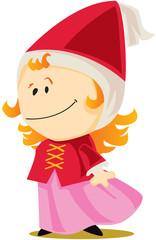 princesse de conte de fée