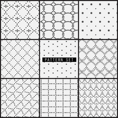 line pattern seamless pattern set