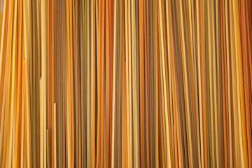 colorful spaghettis