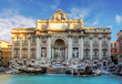 Rome, Fountain di Trevi, Italy - 71074315