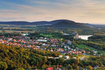 Bratilava with village Devin - Slovakia