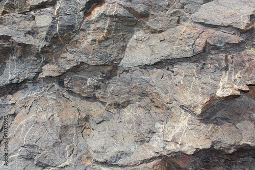 canvas print picture Rock wall