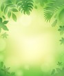 Leaves theme background 5
