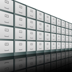 Filing Cabinets Background