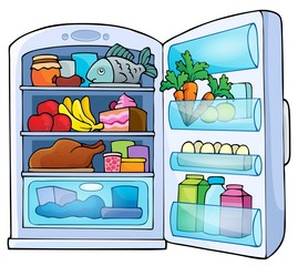 Image with fridge theme 1
