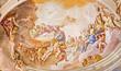 Padua - Fresco on main apse of Basilica di Santa Giustina