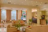 Fototapety Lounge area of a hotel, club, company lobby