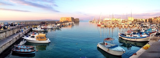 heraklion harbor