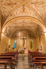 Padua - side chapel in church San Benedetto vecchio