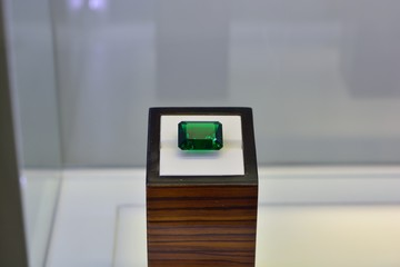 Huge diamond emerald rectangles.