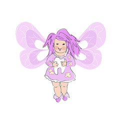 Pink  Tooth Fairy