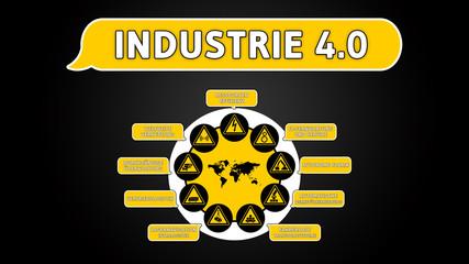 ff1 FutureFactory - Industrie 4-0 v1 in schwarz - g1847 16zu9