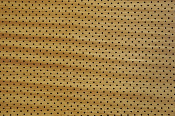 perforated wooden background
