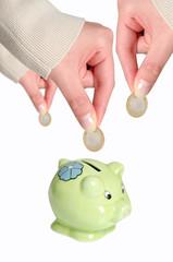 concetto di risparmio