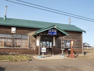 藻琴駅の駅舎