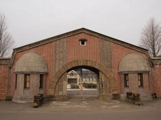 網走刑務所の入口