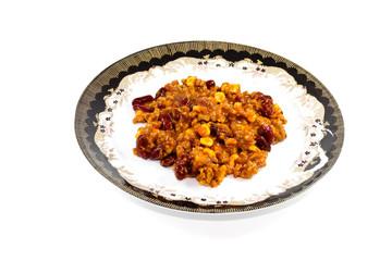Chili Con Carne auf Teller