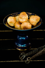 Homemade scones and bread