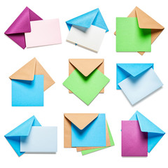 Envelopes with card