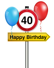 happy birthday 40