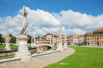 Padua - Prato della Valle from south