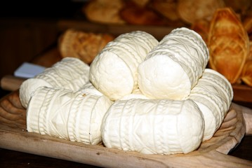 sheep milk cheese called oscypek