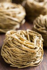 fresh buckwheat tagliolini- tagliolini grano saraceno