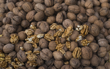 a lot of nuts