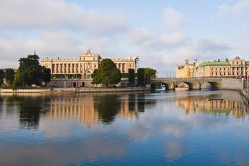 Stockholm Parliament View