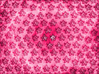 pinkfarbene Sterne...