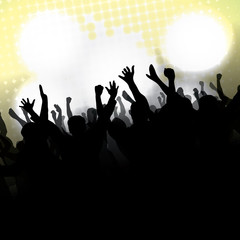 Party Vector Background