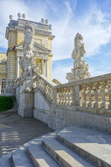 Gloriette in Vienna from the Site