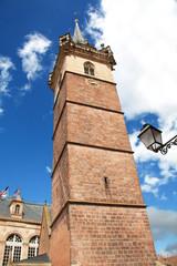 Beffroi d'Obernai en Alsace, Bas Rhin