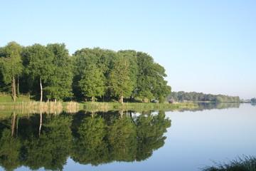 Miroir sur l'étang de Rillé