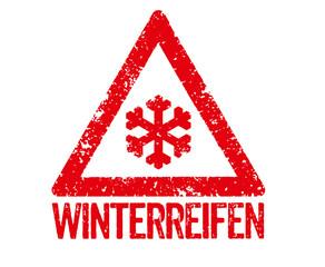 Roter Stempel - Winterreifen