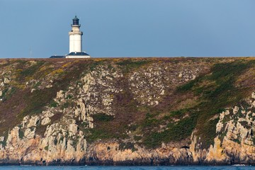 The Stiff lighthouse on the cliff top