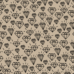 Hipster diamond pattern
