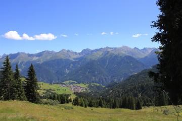 Blick in die Berge