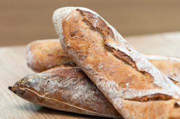 Bread-French baguettes